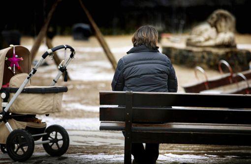 Depressive Mütter: Aufnahme nur ohne Kind