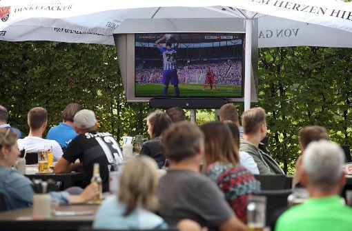 So erlebten die VfB-Fans das Spiel im Palm Beach