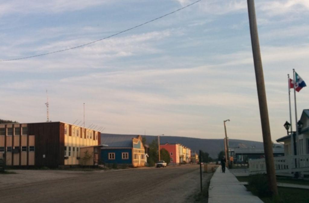 Die frühere Goldgräberstadt Dawson City ist inzwischen ein lebendes Museum. Foto: Eva Horn