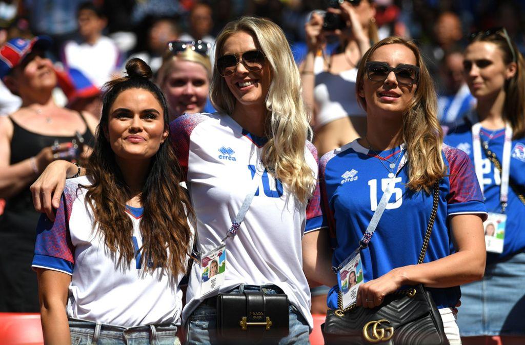 Tausende Fans sind aus Island nach Russland gekommen. Foto: Getty Images Europe