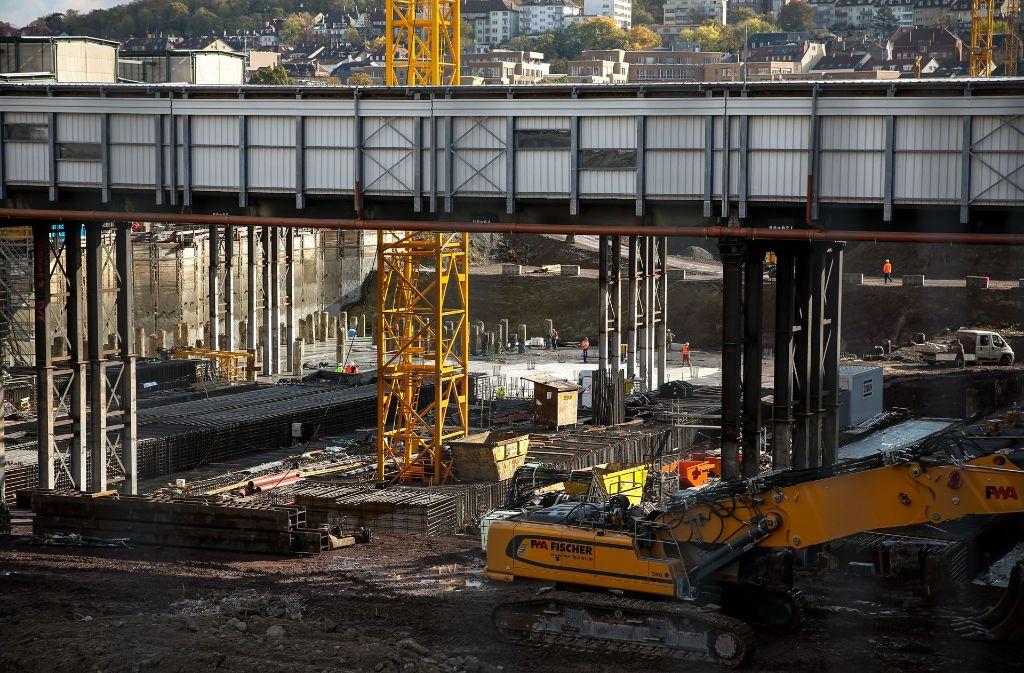 Stuttgart 21 ist im Bau, beschäftigt aber nach wie vor die Gerichte. Foto: Lichtgut/Leif Piechowski