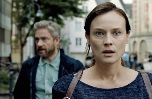 Diane Kruger und Christian Bale im Fokus