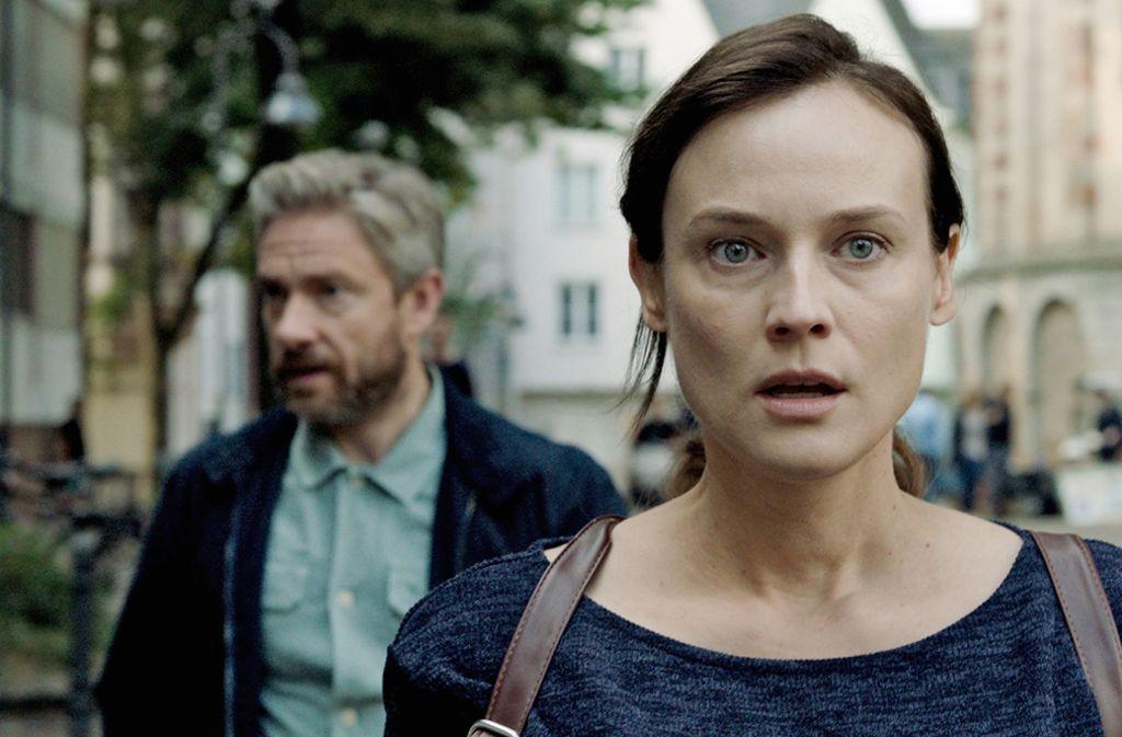 """Diane Kruger und Martin Freeman in """"Die Agentin"""" Foto: Berlinale"""