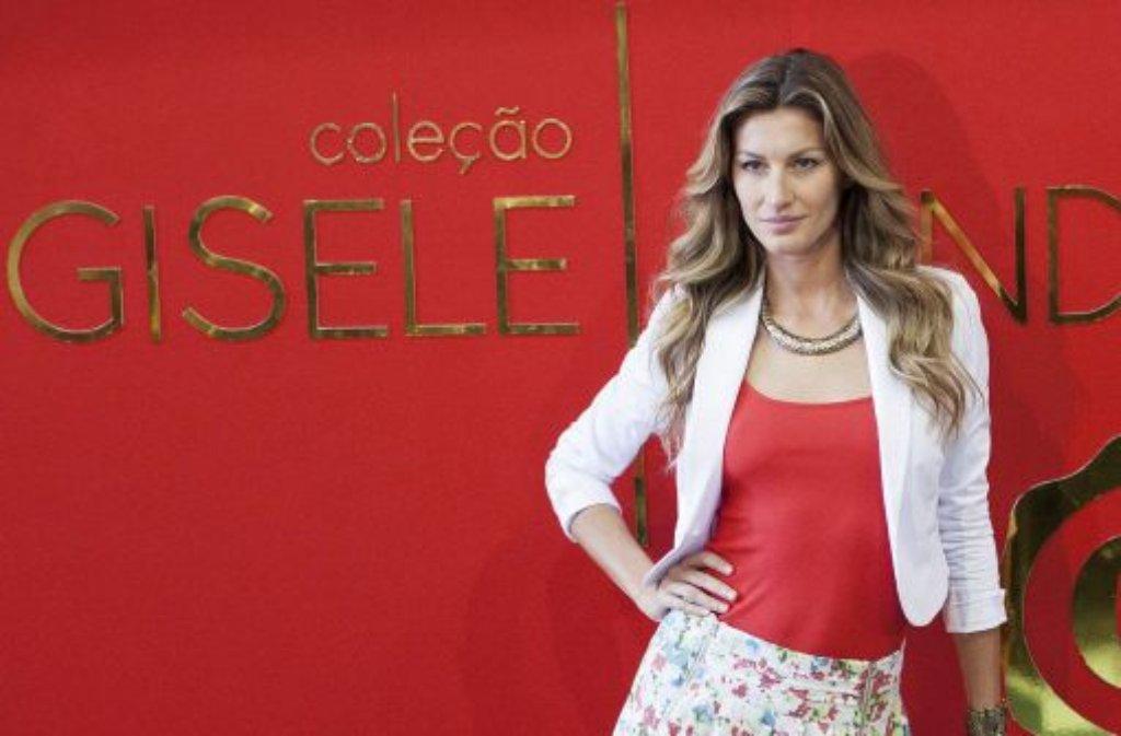 Bereits zum siebten mal führt Gisele Bündchen die Forbes-Liste der bestbezahlten Models an - und das mit einem deutlichen Vorsprung. 42 Millionen US-Dollar verdiente die Brasilianerin im letzten Jahr. Foto: dpa