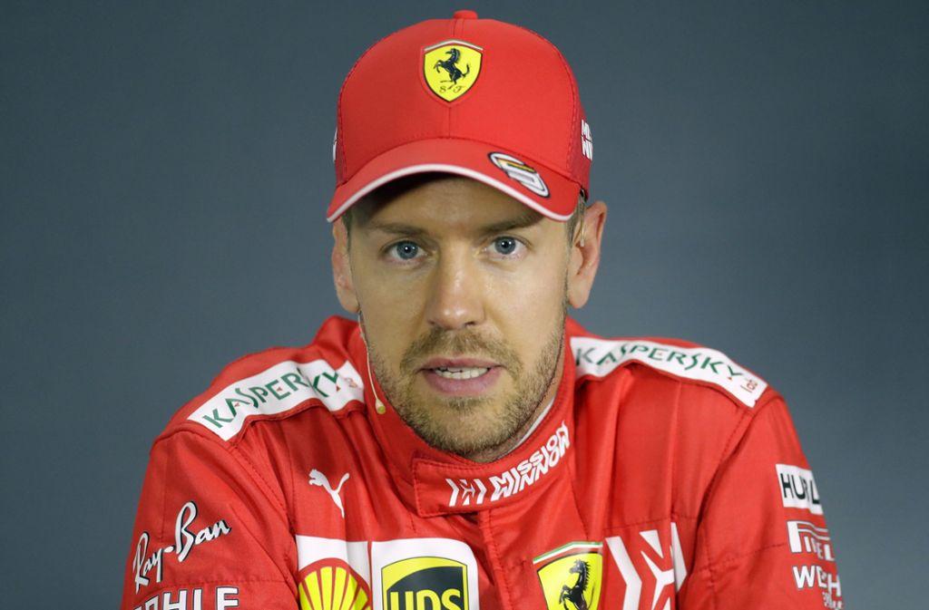 Sebastian Vettel liegt in der Weltmeister-Wertung 35 Punkte hinter dem führenden Valtteri Bottas. Foto: dpa
