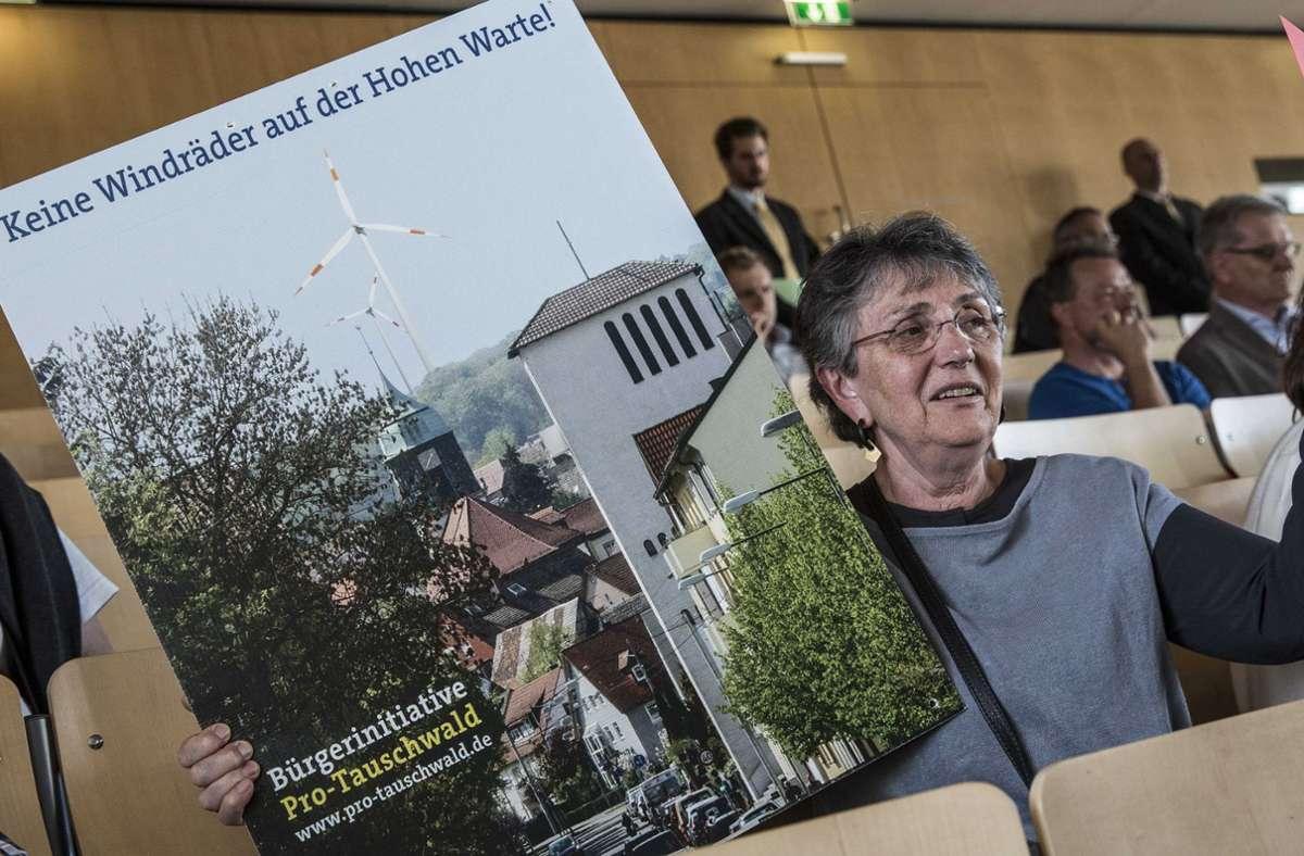 Vor sechs Jahren gab es im Rathaus großen Protest gegen Windkraftpläne – und die Stadt stieg aus den Überlegungen aus. Foto: Lichtgut/Leif Piechowski