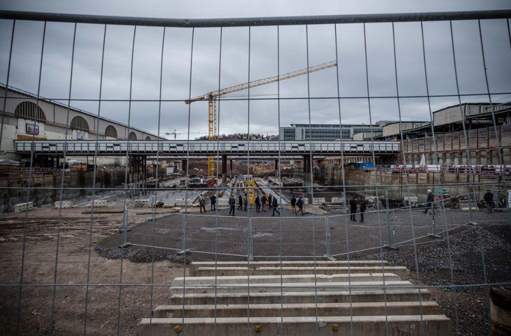 Der Tiefbahnhof in der Stadtmitte soll Durchbindungen der bisher in Stuttgart endenden Züge ermöglichen. Foto: Manfred Storck