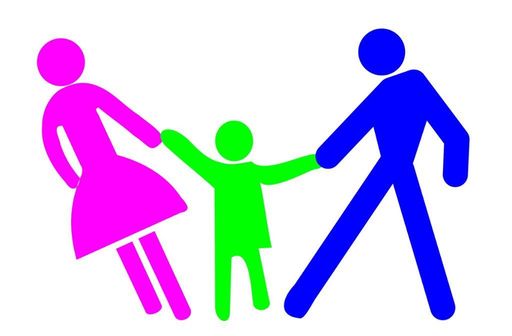 Auch nach der Trennung oft ein Streitthema: der Umgang mit Kindern Foto: fusolino - fotolia