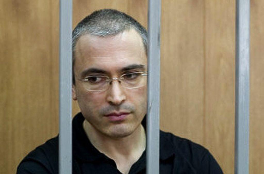 Mit Hilfe einer Briefkastenfirma hat der staatliche Ölkonzern Rosneft einst Anteile von Yukos übernommen, dessen ehemaliger Chef Michail Chodorkowski sitzt seit 2005 im fernen Osten des Landes im Gefängnis. Foto: AP
