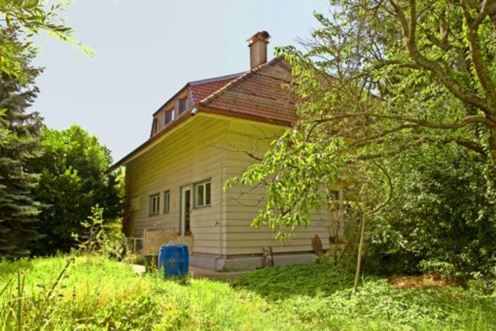 """Das Finsterlin-Haus am Frauenkopf soll """"exklusiven Eigentumswohnungen"""" weichen. Foto: privat"""