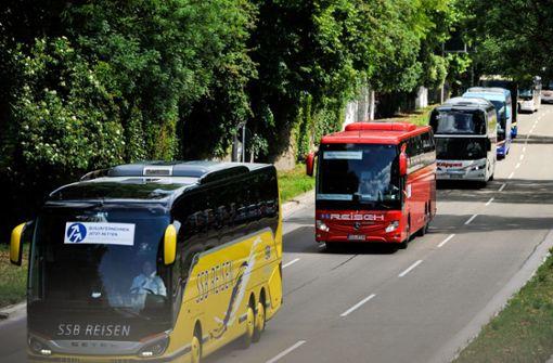 Busbranche im Südwesten wird mit 40 Millionen Euro unterstützt