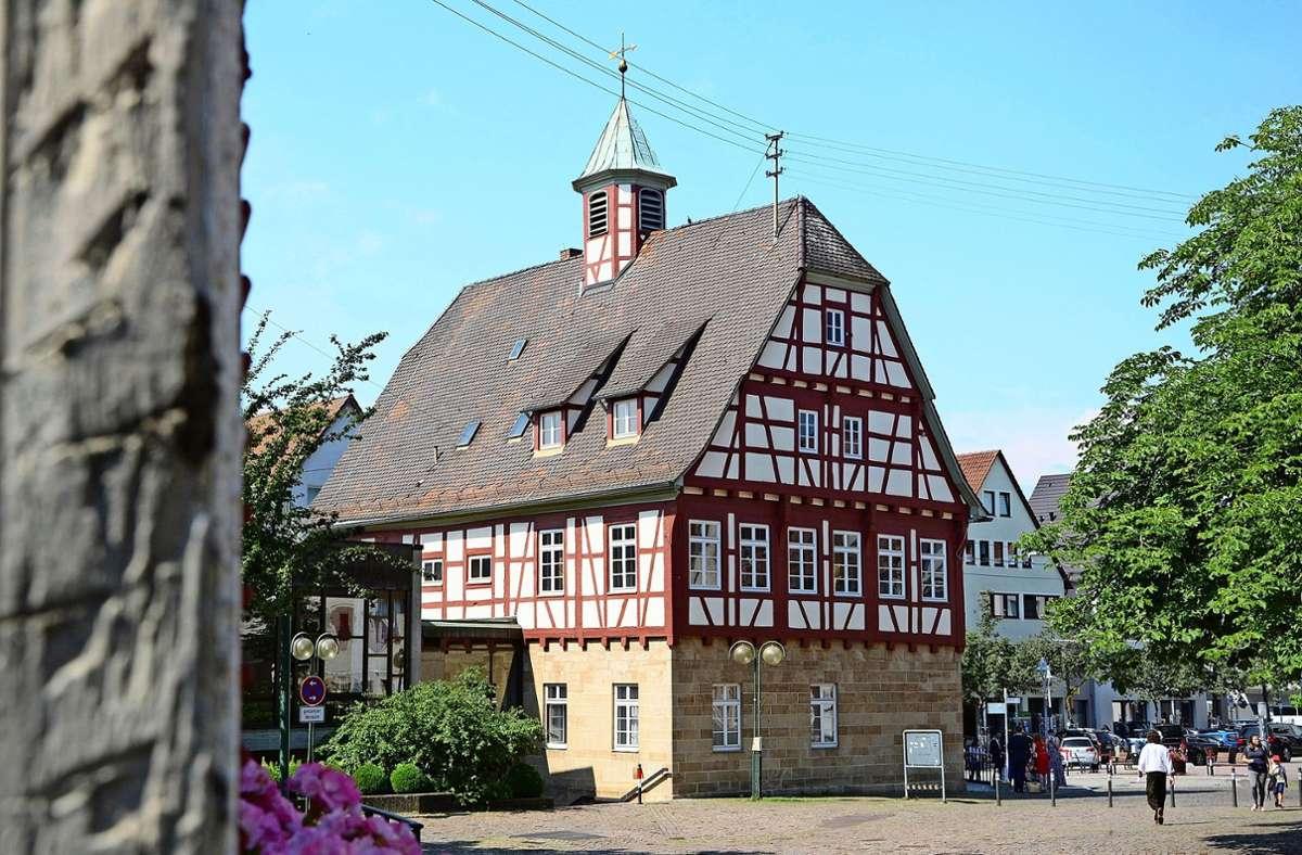 Vielen Menschen im Ort liegt das historische Fachwerk in Echterdingen besonders am Herzen. Foto: Philipp Braitinger