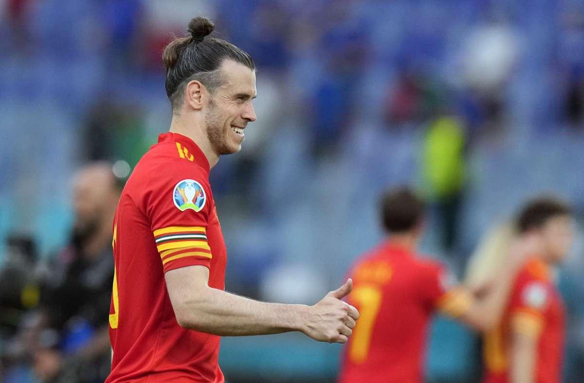 Wales-Superstar Gareth Bale hätte auch für England spielen können. Seit 2006  steht er für Wales auf dem Platz. Foto: dpa/Alessandra Tarantino