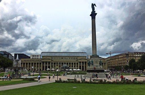 Der Schlossplatz – das Eventcenter der Stadt