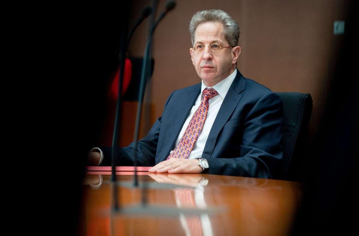 Hans-Georg Maaßen will bei der Bundestagswahl für die CDU in Thüringen antreten. Foto: dpa/Kay Nietfeld