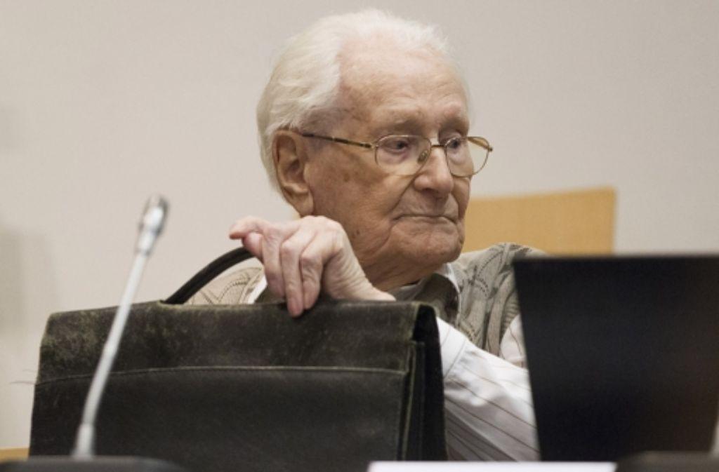 Oskar Gröning wird Beihilfe zum Massenmord an 300 000 Menschen vorgeworfen. Foto: Getty