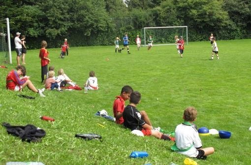 Besondere Bälle für die Kindersportschule