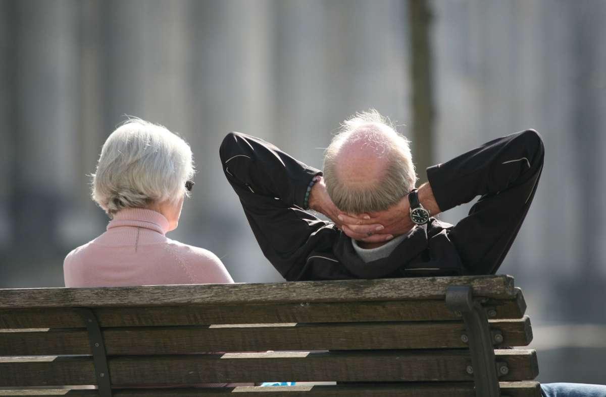 Mit der Grundrente sollen kleine Renten von rund 1,3 Millionen Menschen aufgebessert werden. (Symbolfoto) Foto: dpa/Stephan Scheuer