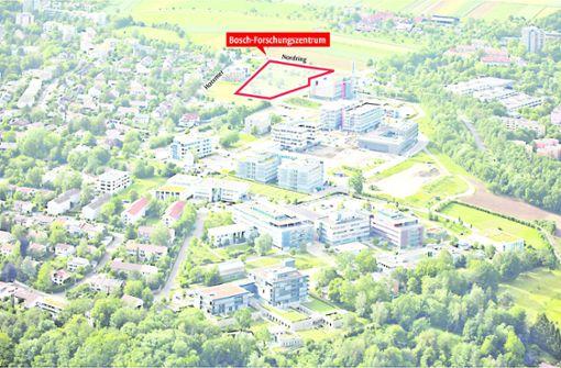 Boschs neuer Campus beim  Cybervalley