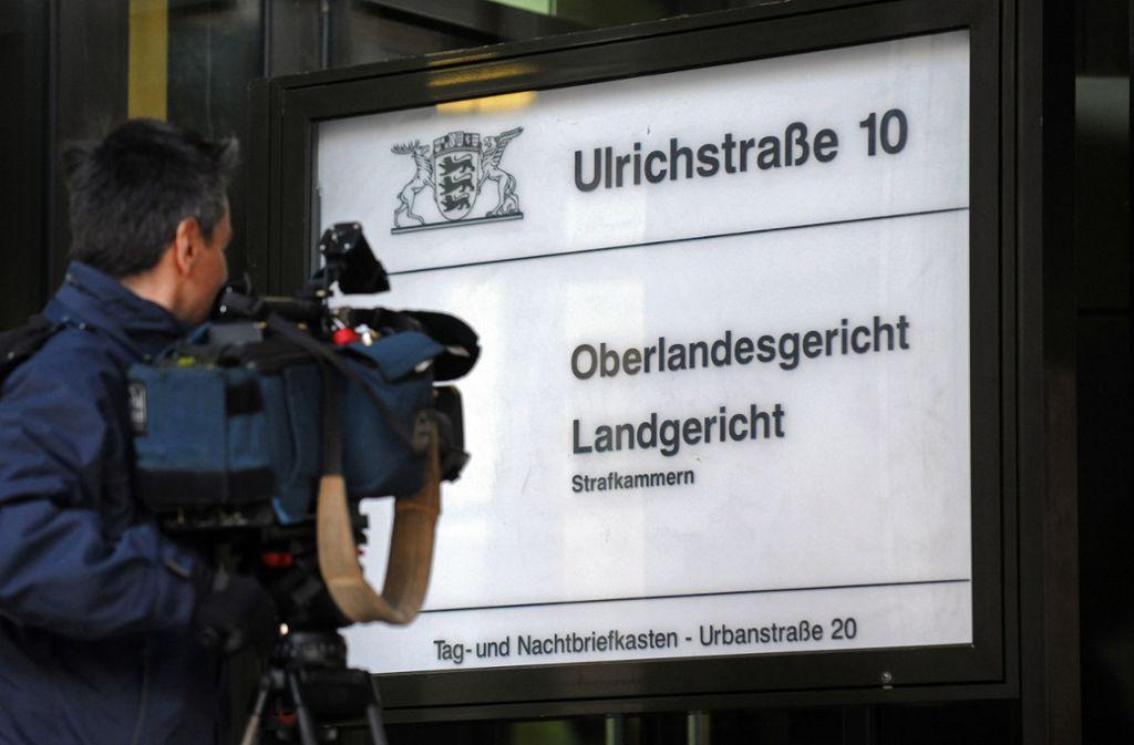 Teilweise unter einem Dach: Landgericht und Oberlandesgericht in Stuttgart Foto: StZ