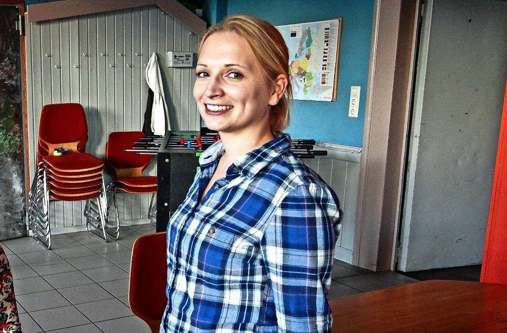 Schulsozialarbeiterin Peggy Simmert weiß, dass es selbst an Grundschulen immer mehr Mobbingfälle gibt. Foto: factum/Granville