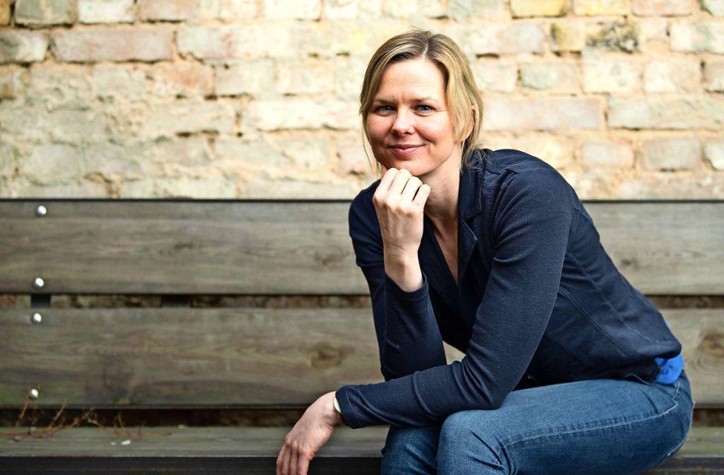 Britta Steffen zeigt Umweltbewusstsein. Foto: