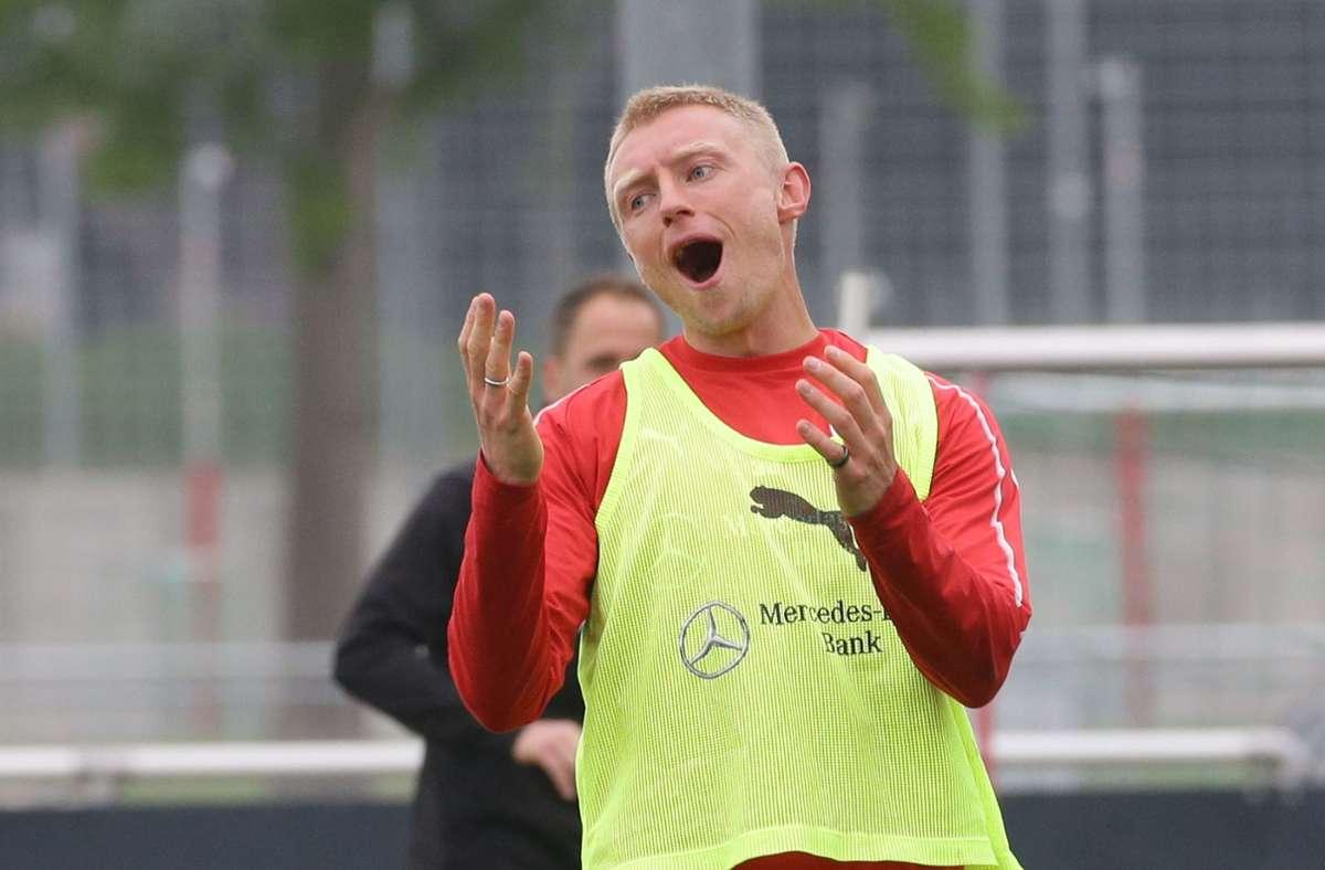 Andreas Beck stammt aus der Stuttgarter Jugend und lief zwischen 2006 und 2008 sowie von 2017 bis 2019 für die Schwaben auf. Foto: Pressefoto Baumann/Hansjürgen Britsch