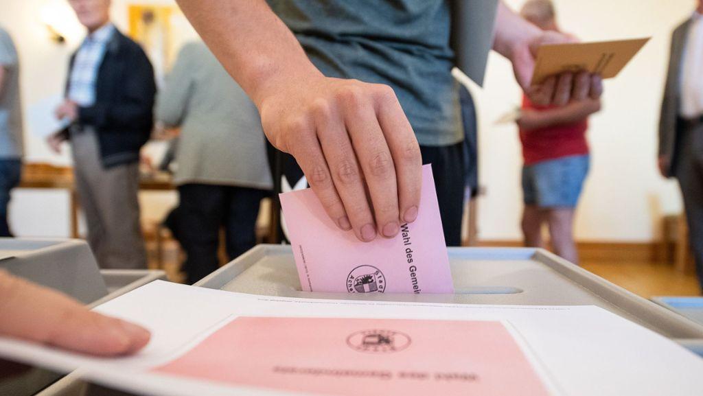 In der Wahlkabine geht es um die eigene Stadt
