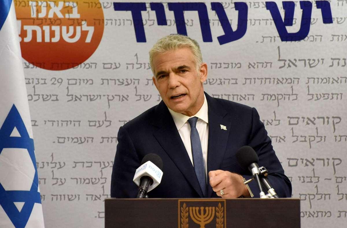 Der liberale Politiker Jair Lapid kommt Ablösung von Ministerpräsident Netanjahu offenbar näher (Archivfoto). Foto: AFP/DEBBIE HILL