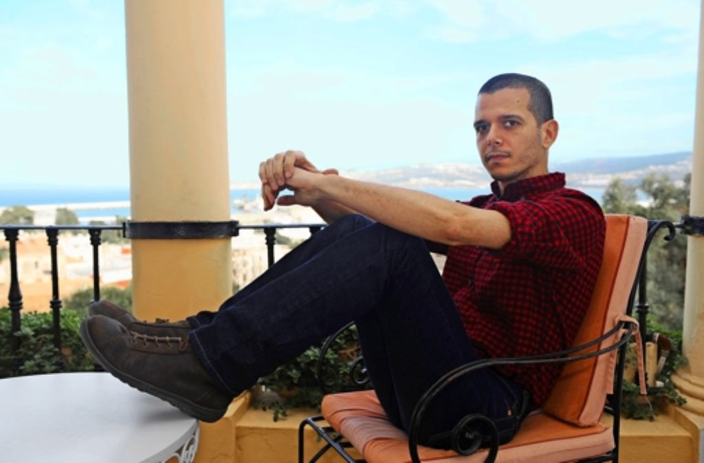 Abdellah Taïa zu Besuch in seiner marokkanischen Heimat: meist lebt der  Schriftsteller in Paris. Foto: AFP