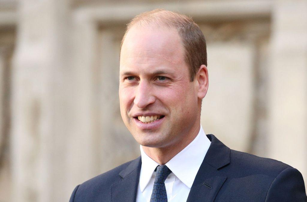 Prinz William hat in der Coronakrise einen neuen Job. Foto: dpa/Jonathan Brady