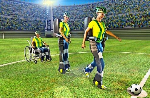 Gedankenübertragung im Fußballstadion