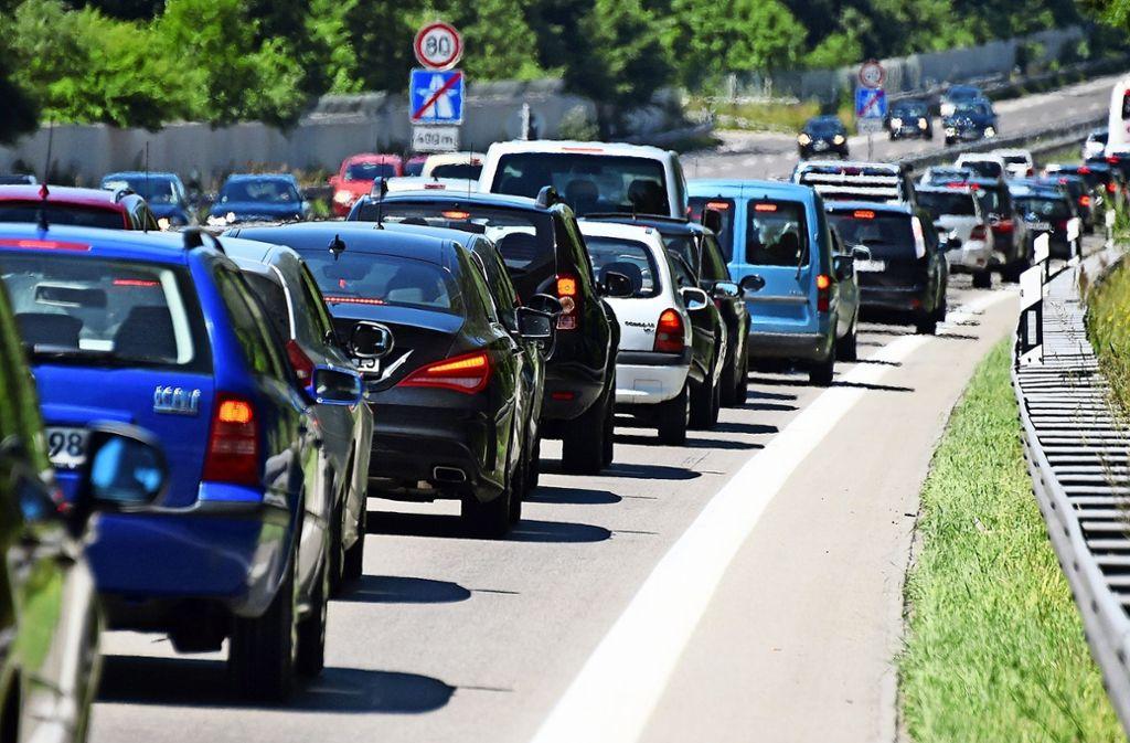 Autobahn A8 Sperrung Wochenende