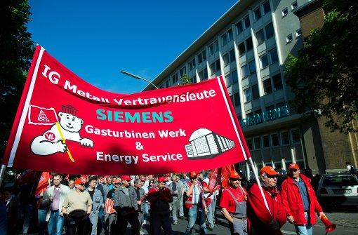 Erneut Warnstreiks von Metallern in Sachsen