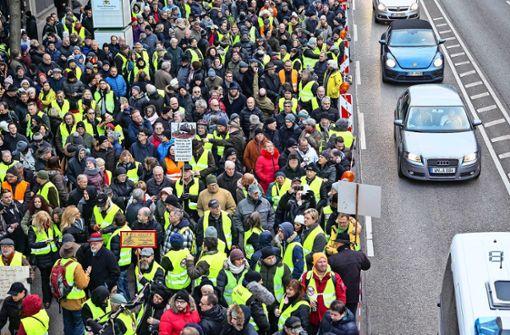 Grüne: Statt Demo  besser auf Nachrüstung setzen