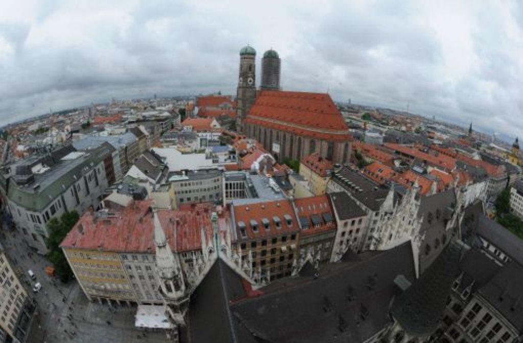 München liegt im Fahrrad-Ranking an der Spitze zusammen mit... Foto: dpa