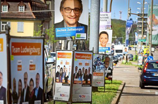 Welche Regeln gelten für Wahlplakate?