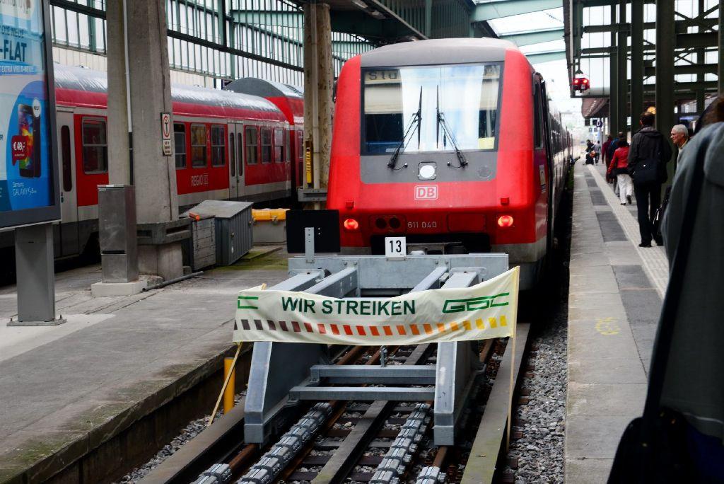 Deutsch Bahn Streik