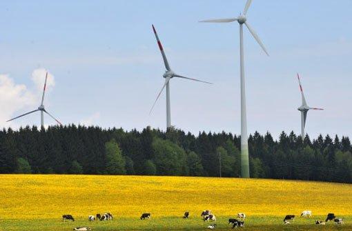Windkraft soll Energiewende vorantreiben