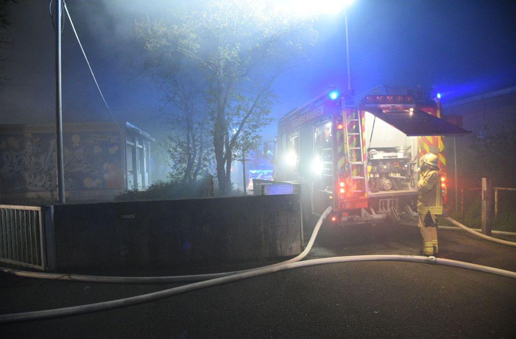 Das Feuer richtete einen Schaden zwischen 300 000 Euro und 400 000 Euro an. Foto: PR-Video