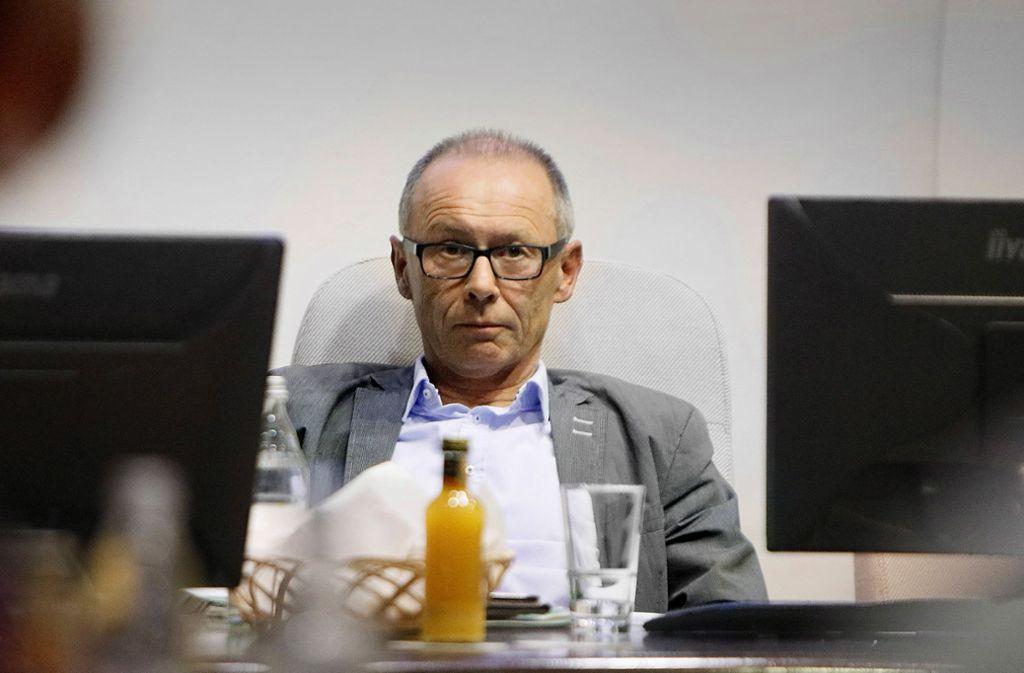 Seit 1999 ist Harry Ebert Bürgermeister in Burladingen. Foto: Horst Haas