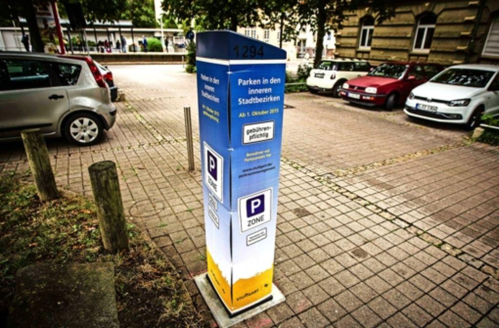 Solche Säulen werden Ende 2017 auch in Bad Cannstatt stehen. Foto: Lichtgut/Piechowski