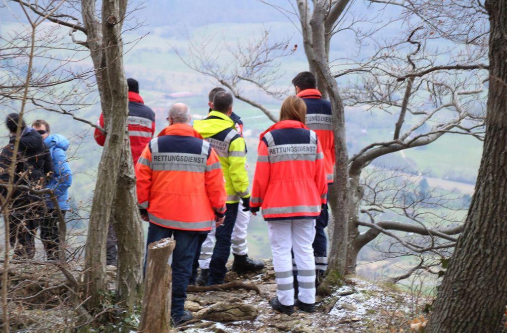 Die Rettungskräfte sind vor Ort Foto: 7aktuell.de/Enrique Kaczor