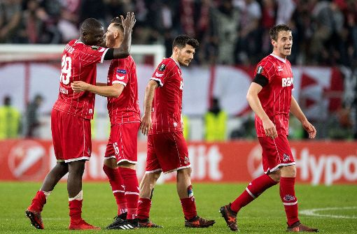 1. FC Köln bezwingt Arsenal London
