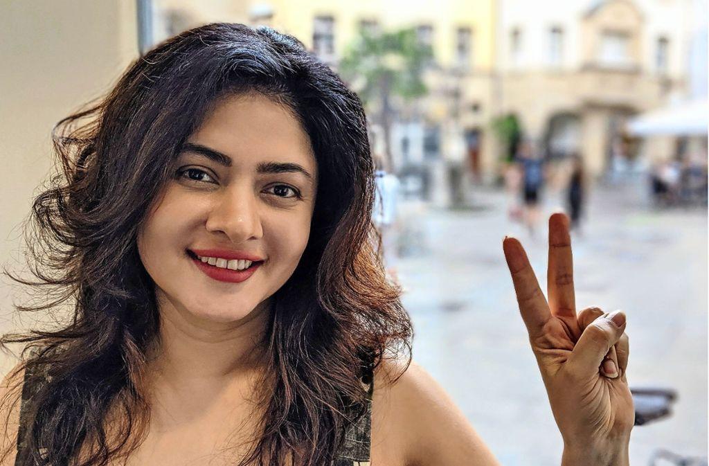 Sonal Sehgal, Schauspielerin und Autorin aus Mumbai Foto: Jürgen Brand