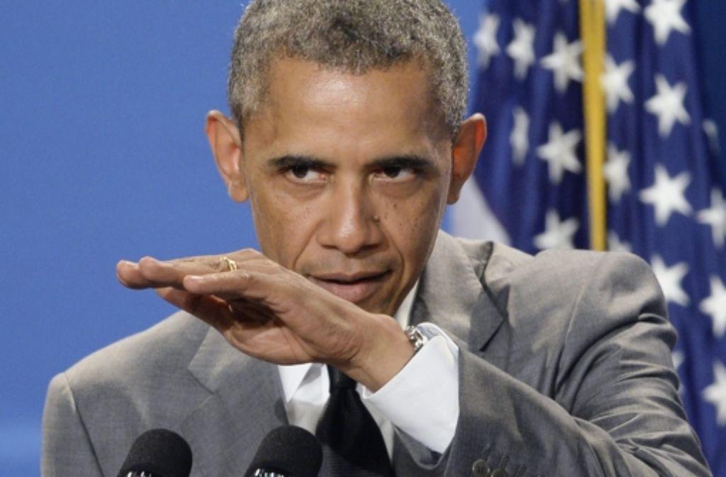 Barack Obama ist stark daran interessiert, dass es in der Ukraine zu einer schnellen Aufarbeitung kommt.  Foto: dpa