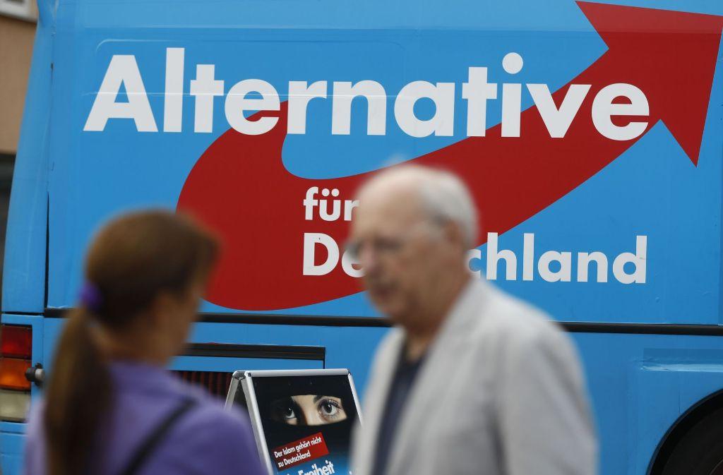 Selbst politische Gegner räumen ein, dass viele Bürger mittlerweile offen mit der AfD sympathisieren. Foto: AFP