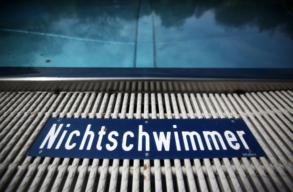 Auch in Stuttgart hat der Anteil der Nichtschwimmer zugenommen. Foto: dpa