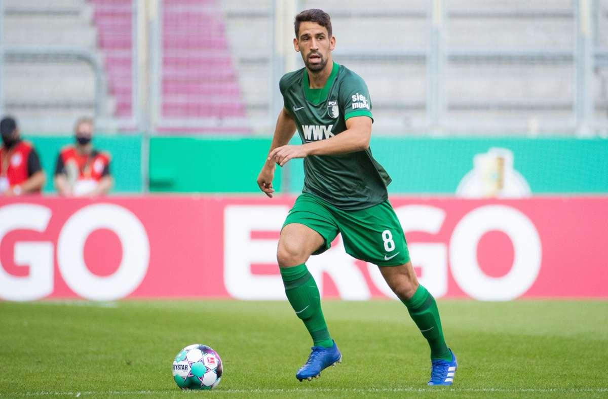 Rani Khedira verlässt den FC Augsburg. (Archivbild) Foto: dpa/Tom Weller