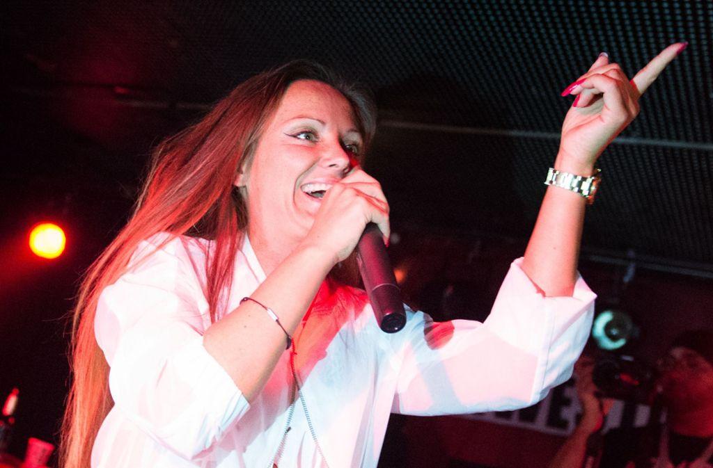Rapperin Schwesta Ewa könnte ihr Baby im Gefängnis zur Welt bringen. Foto: dpa